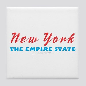 New York - Empire state Tile Coaster