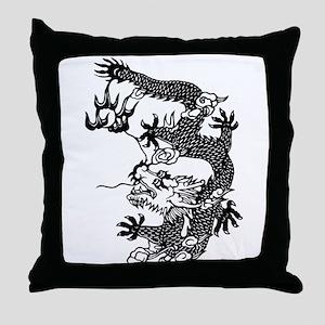 Dragon 7 Throw Pillow