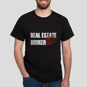 Off Duty Real Estate Broker Dark T-Shirt