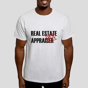 Off Duty Real Estate Appraise Light T-Shirt