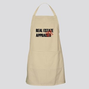Off Duty Real Estate Appraise BBQ Apron
