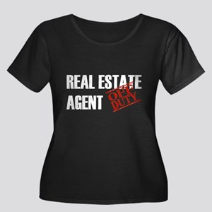 Off Duty Real Estate Agent Women's Plus Size Scoop