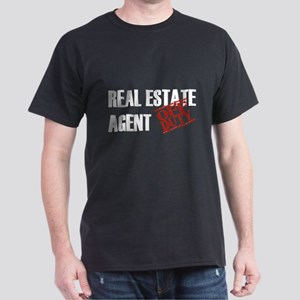 Off Duty Real Estate Agent Dark T-Shirt