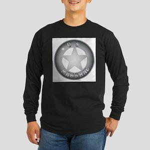 US Marshal Badge Long Sleeve T-Shirt