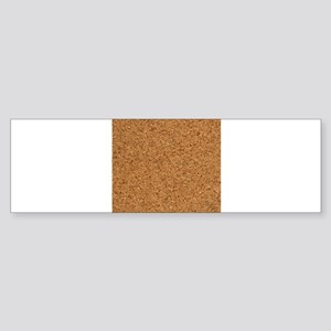 Cool Faux Cork Texture 4Jimmie Bumper Sticker