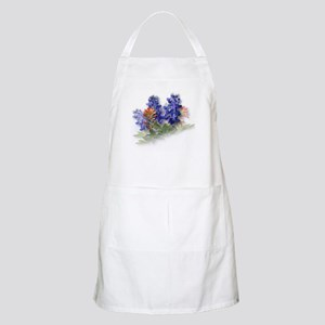 Bluebonnets with Indian Paint BBQ Apron