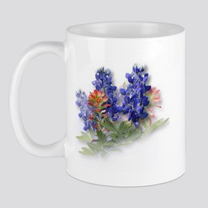 Bluebonnets with Indian Paint Mug