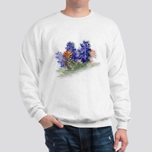 Bluebonnets with Indian Paint Sweatshirt