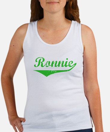 Ronnie Vintage (Green) Women's Tank Top