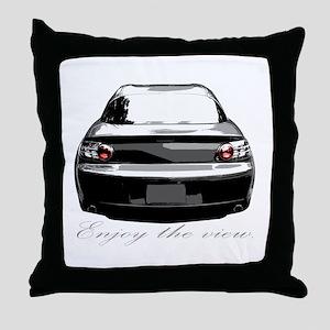 "RX8 ""Enjoy the view."" Throw Pillow"