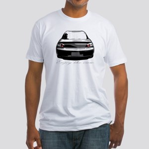 "RX8 ""Enjoy the view."" Fitted T-Shirt"