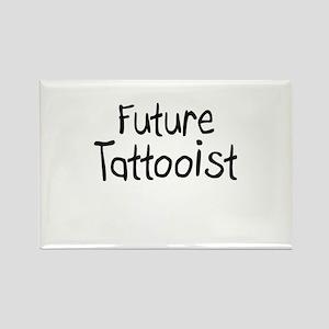 Future Tattooist Rectangle Magnet