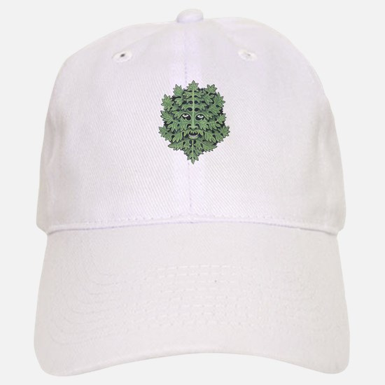 Green Man Baseball Baseball Cap