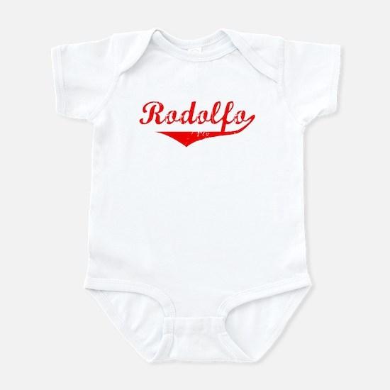 Rodolfo Vintage (Red) Infant Bodysuit
