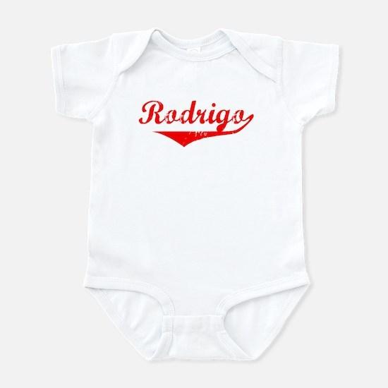 Rodrigo Vintage (Red) Infant Bodysuit