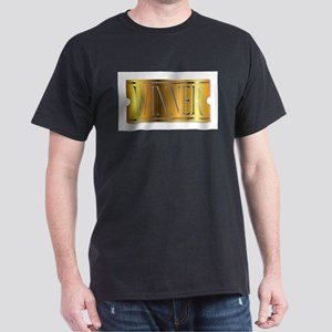 Winner Ticket In Gold T-Shirt