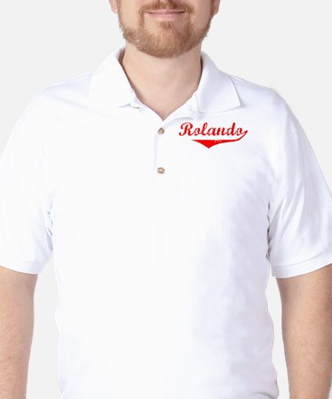Rolando Vintage (Red) Golf Shirt