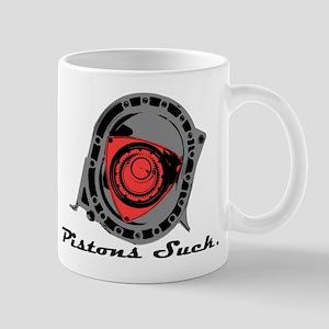 """""""Pistons Suck"""" Mug"""