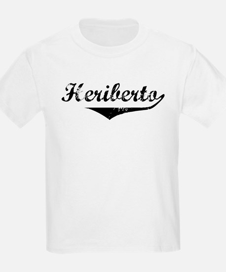 Heriberto Vintage (Black) T-Shirt