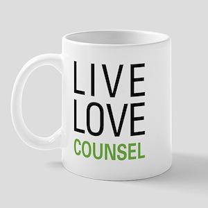 Live Love Counsel Mug