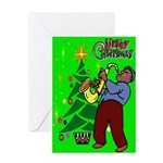 New Orleans Jazz Christmas Card
