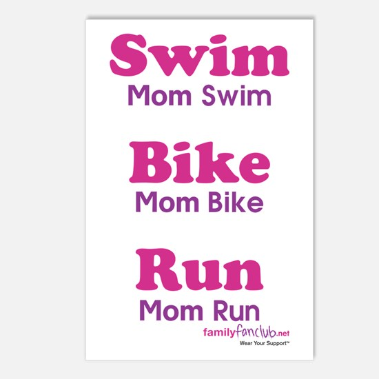 Triathlon Mom Postcards (Package of 8)