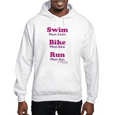 Triathlon Mom Hooded Sweatshirt