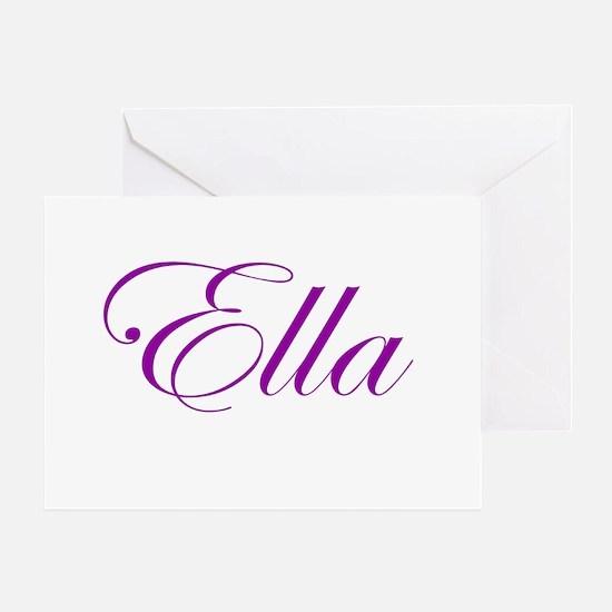 Ella Script Greeting Card