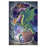 Dragon's Lair Large 23x35 Poster