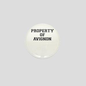 Property of AVIGNON Mini Button