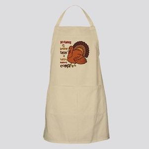 Turkey Induced Coma BBQ Apron