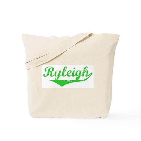Ryleigh Vintage (Green) Tote Bag
