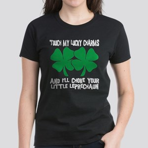 Touch My Lucky Charms Women's Dark T-Shirt