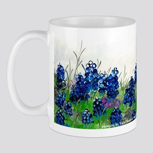 Bluebonnet Painting Mug