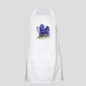 Bluebonnet Spray BBQ Apron