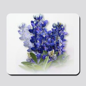 Bluebonnet Spray Mousepad