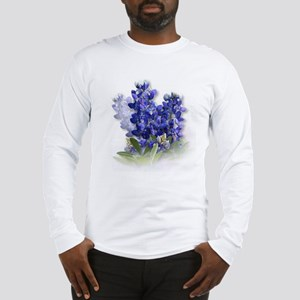 Bluebonnet Spray Long Sleeve T-Shirt