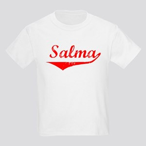 Salma Vintage (Red) Kids Light T-Shirt