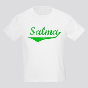 Salma Vintage (Green) Kids Light T-Shirt