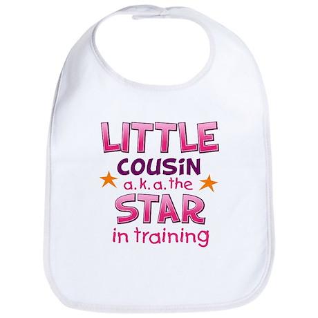 Little Cousin - Star (Pink) Bib