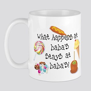 What Happens at Baba's... Mug
