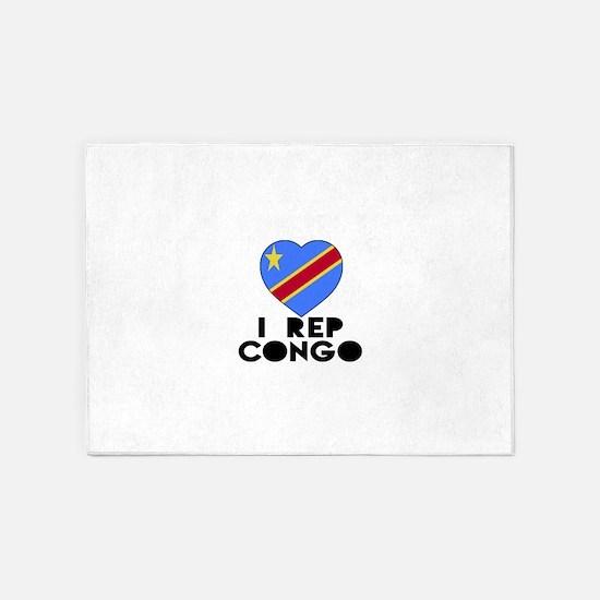 I Rep Congo Country 5'x7'Area Rug