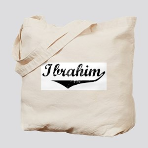 Ibrahim Vintage (Black) Tote Bag
