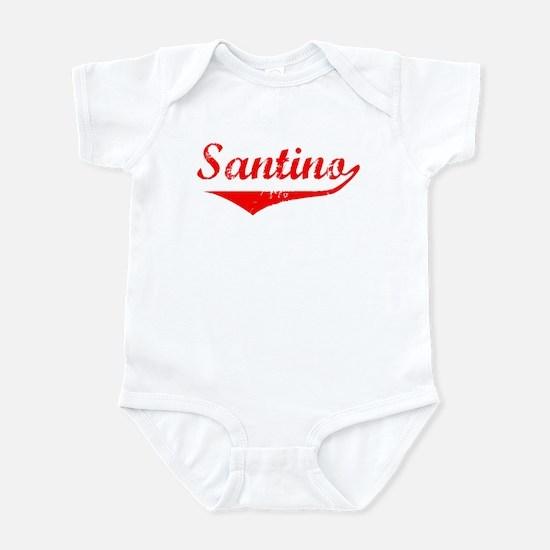 Santino Vintage (Red) Infant Bodysuit