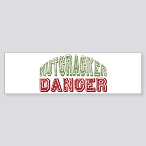 Nutcracker Dancer Christmas Ballet Sticker (Bumper