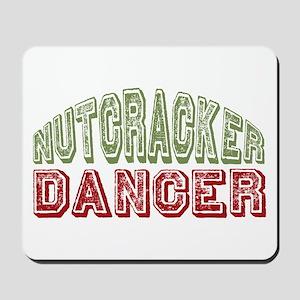 Nutcracker Dancer Christmas Ballet Mousepad