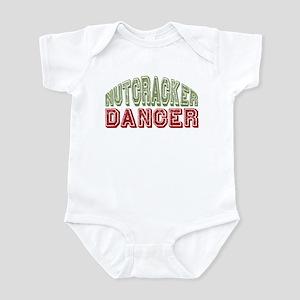 Nutcracker Dancer Christmas Ballet Infant Bodysuit