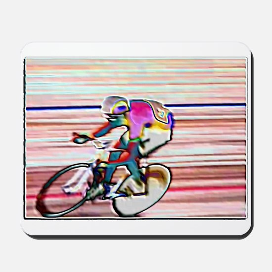 BIKE RACER WAX Mousepad