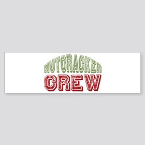 Nutcracker Crew Christmas Ballet Bumper Sticker