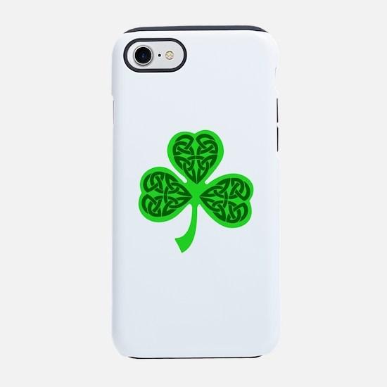 Celtic Knot shamrock iPhone 8/7 Tough Case